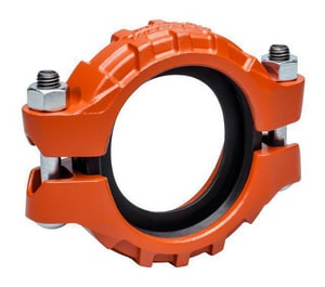 2 x 2 in. Painted Grooved Coupling with E Gasket