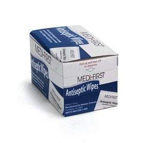 XL Size Antiseptic Wipe 20 Pack