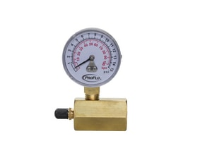 2 in. GAS TEST GAUGE ASSEMBLY 0-60#
