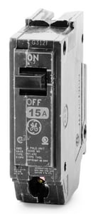 1 in. 15A 1-Pole Plug-In Breaker