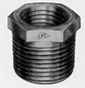 2 x 1 in. Threaded 3000# and 6000# Forged Steel HEX Bushing