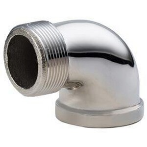 1 in. Compression Brass 90 Degree Elbow