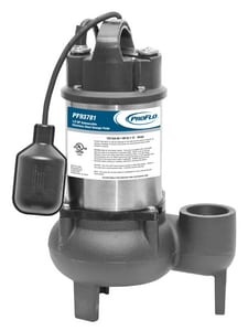 1/2 hp Sewage Pump with Tether Switch