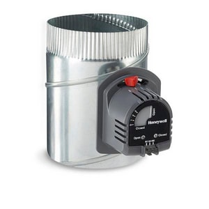 12 in. Automatic Round Damper with 24V Motor