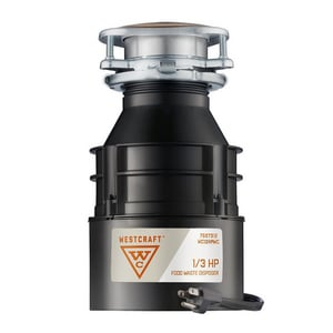 1/3 hp Apartment Garbage Disposer with Cord