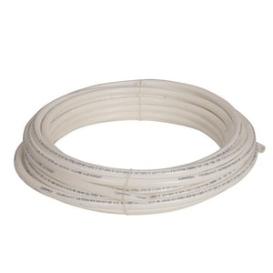 1 in. x 100 ft. Hot and Cold Poly Tube Polyethylene Tubing in White