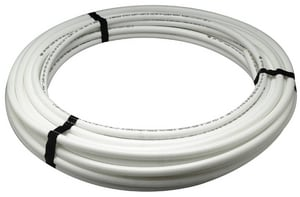 1/2 in. x 100 ft. Hot and Cold Poly Tube Polyethylene Tubing in White