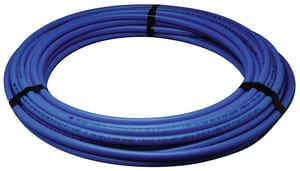 1 in. x 100 ft. Hot and Cold Poly Tube Polyethylene Tubing in Blue