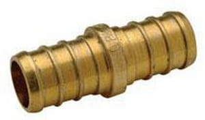1 in. Barbed Brass Coupling