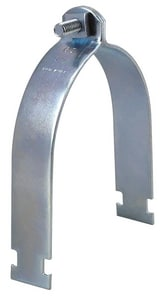 1-1/2 in. OD Plated Strut Clamp With Hardware