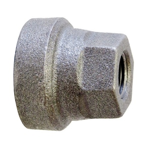 1 x 3/4 in. Threaded 125# Black Cast Iron Reducer